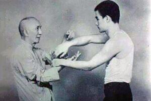Брюс Ли и его учитель Ип Ман