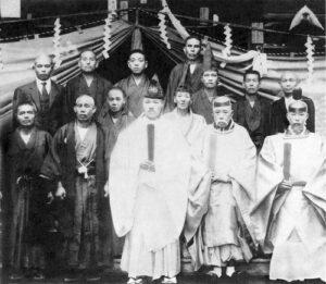 Такеда Сокаку, Охбата Сигета, Хирацука Кацухару, Ёсида Котаро