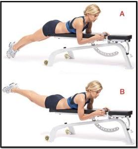 Упражнение обратная гиперэкстензия