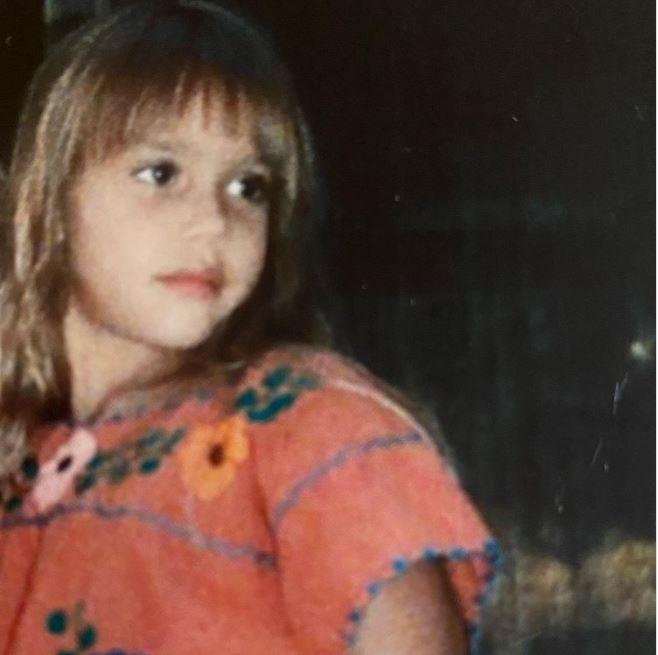 Джессика Альба в детстве
