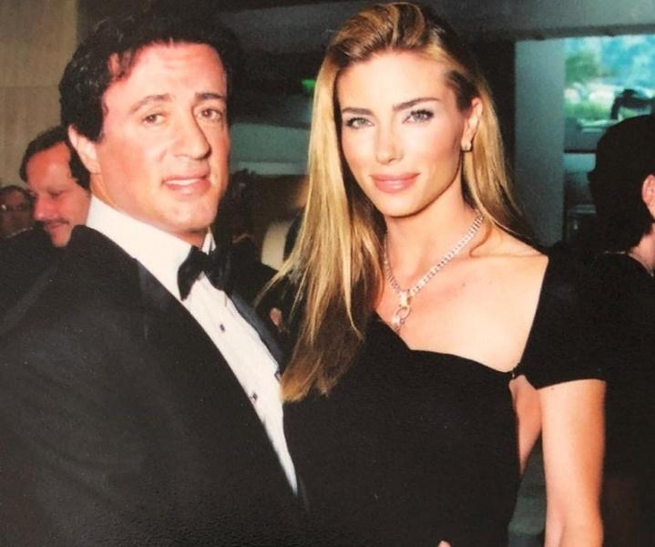 Сильвестр Сталлоне с женой Дженнифер Флавин