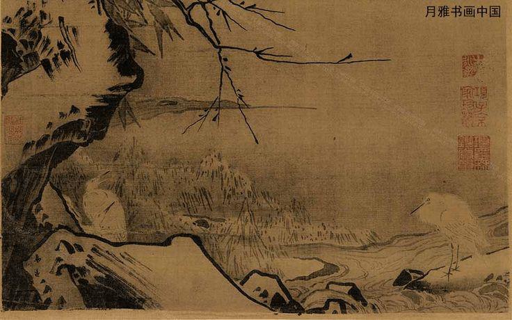 Автор этой картины чаньский монах Ся Гуй