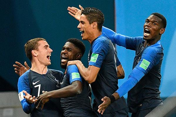 Франция на чемпионате по футболу