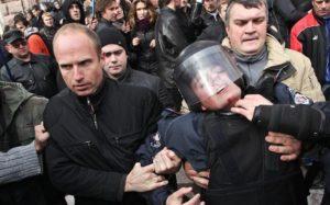 митинги киев