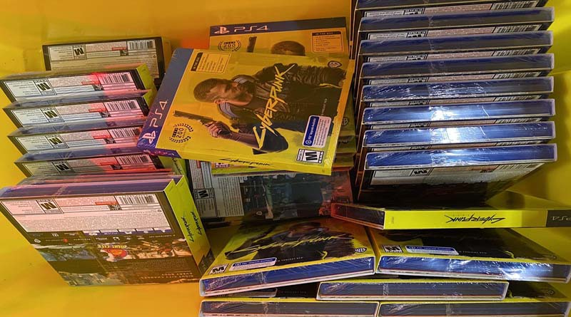 продажи Cyberpunk 2077