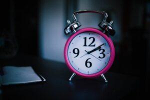 Во сколько вам нужно быть дома?